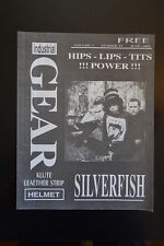 INDUSTRIAL GEAR Magazine KLUTE  SILVERFISH Vintage 1993 Issue music  RARE! bands
