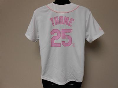 Baseball & Softball Fanartikel Gut New-dirty Jim Thome Weißes Sox Jugendliche M Size 12-14 Majestätisch Trikot