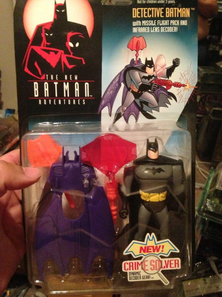 Detective Batman From The New Batman Adventures Anim.ser 5   AF Rare HTF