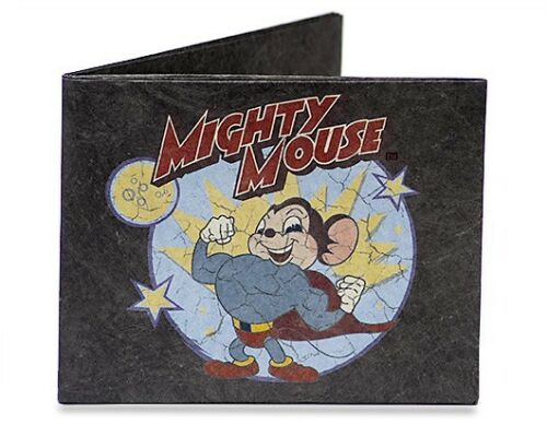 DYNOMIGHT MIGHTY MOUSE BLACK WALLET TYVEK