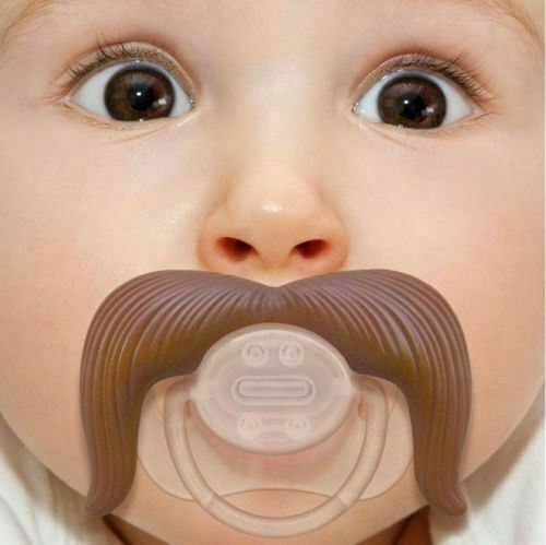 Funny Dummy Dummies Pacifiers Baby Novelty Joke Maternity Toddler Child NEW UK