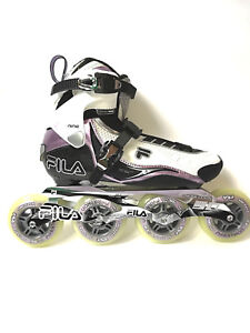 Fila-Nine-90-Lady-white-lila-Marathon-Line-Speedskate-Inliner-Skates-1025-Gr-38