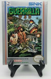 Guerrilla-War-Nintendo-NES-Brand-New-H-Seam-Seal-NIB-not-VGA-WATA-Graded-Rare