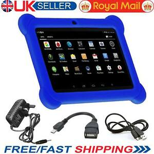 7? INCH KIDS ANDROID TABLET PC QUAD CORE 4.4 WIFI Camera UK STOCK CHILD CHILDREN