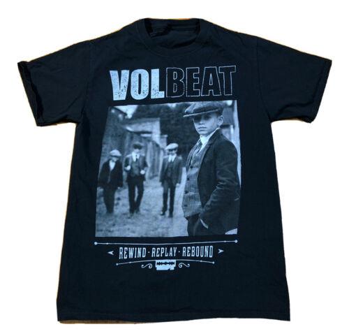 Volbeat Rewind Replay Rebound Concert T Shirt Blac