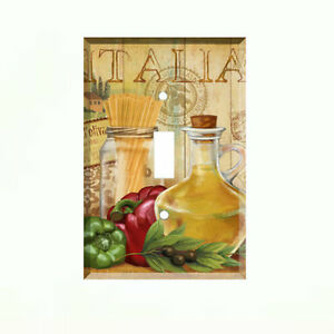 Image Is Loading Italian Kitchen Light Switch Plate Wall Cover Kitchen