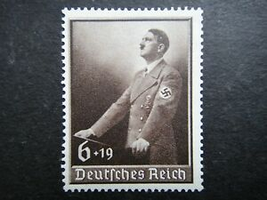Germany Nazi 1939 Stamps MNH Adolf Hitler Swastika Labor Day WWII Third Reich Ge