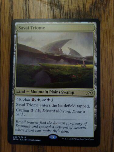 Lair of Behemoths MINT NEVER PLAYED Savai Triome MTG Ikoria