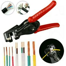 Automatic Electrical Wire Side Cutter Stripper Plier Cable Crimper Terminal Tool
