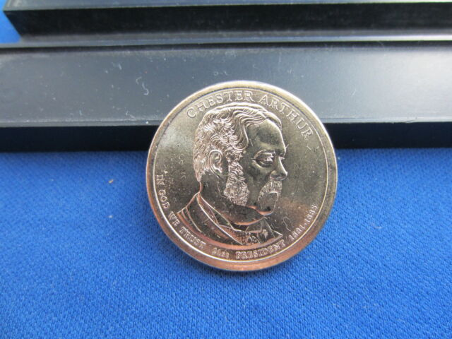 "USA 1 dollar 2012 D mint /""Chester Arthur/"" UNC"