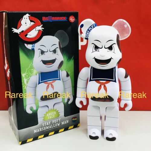 Medicom Be@rbrick Ghostbusters 400/% Stay Puft Marshmallow Anger Face Bearbrick