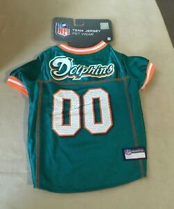 low priced 81dea 1551d Details about NFL Football Team Jersey for Dog Pet M Medium Miami Dolphins  14