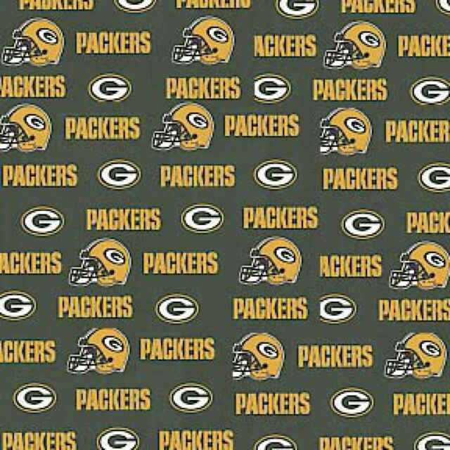 100 Cotton Fabric Green Bay Packers Fabric 58 Wide Nfl Licensed Bty 6317 For Sale Online Ebay