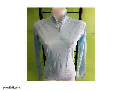Atlas Zip Damen Body Langarm Unterhemd 100/% Pure Merino Icebreaker 150 Half Zip