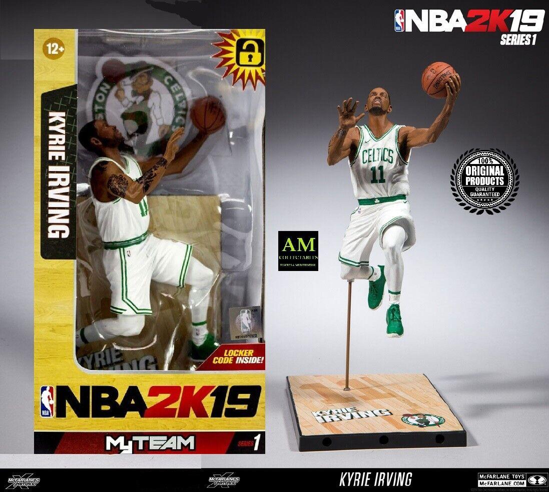 Kyrie Irving Boston Celtics McFarlane Toys NBA 2K19 Series 1 Action Figure