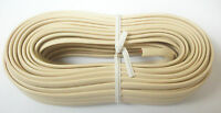 Recoton 50 Ft. 4 Conductors 2 Line Open Ends Phone Line Wire Cord Cable - Ivory