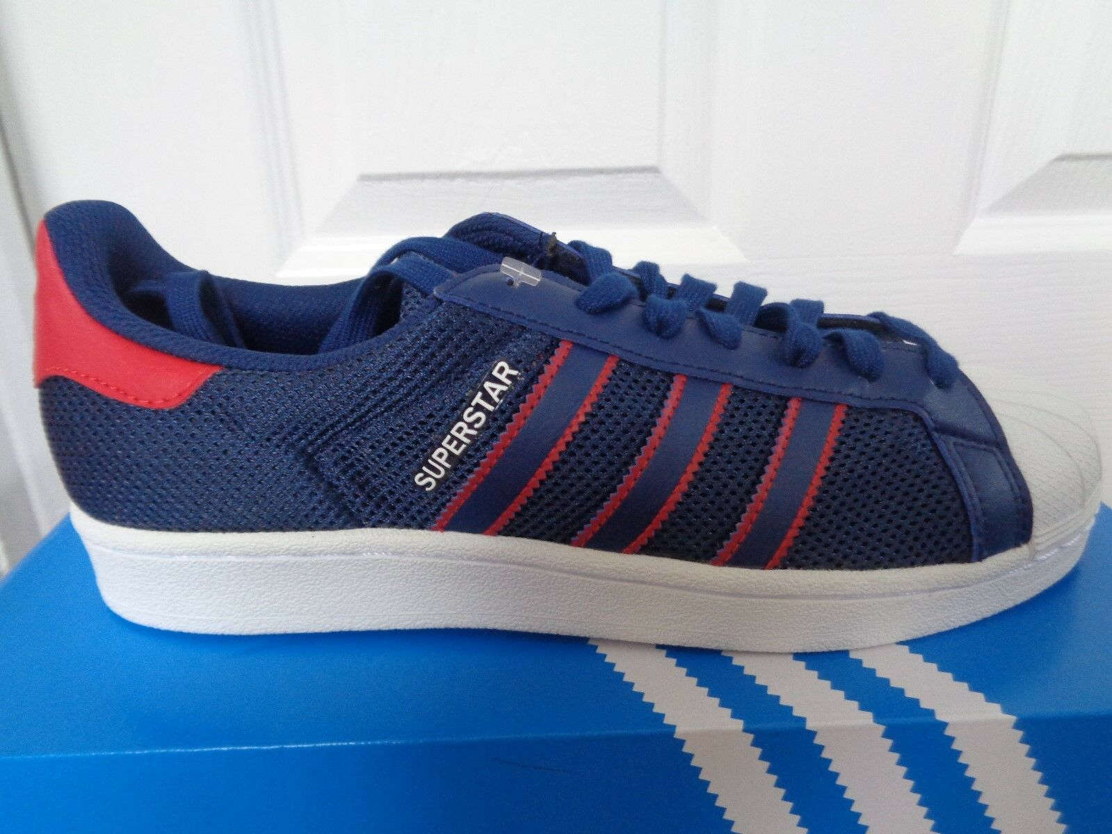 Adidas Superstar mens trainers Turnschuhe BB5395 uk 7.5 eu 41 1 3 us 8 NEW+BOX