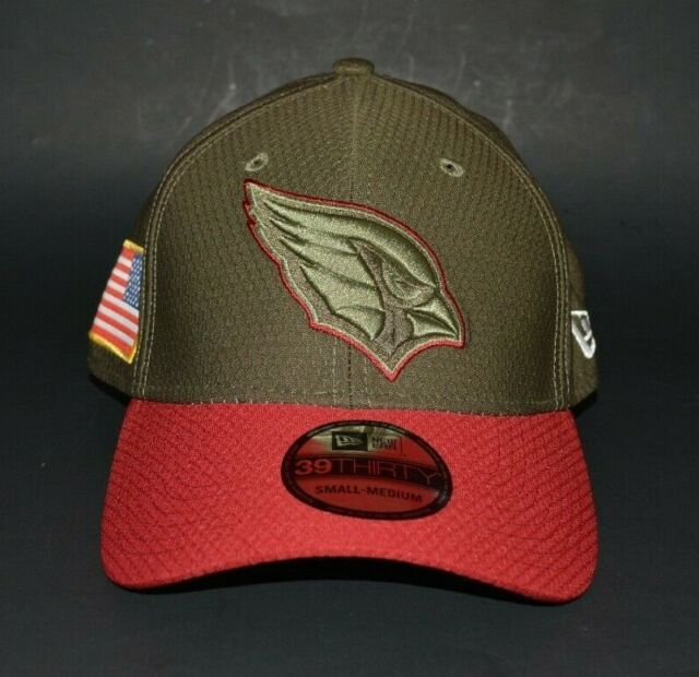 new styles 174af 69727 New Era 39THIRTY Arizona Cardinals Salute to Service Fitted Hat Size S M