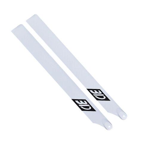 2pcs EBOYU Carbon Fiber 550mm Main Blades for RC 550 Helicopter TM