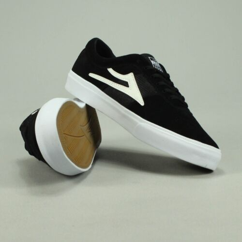 Box Size 8 7 Trainers 10 9 Black Skate Lakai Brand In New Uk Sheffield white fqEY1wg