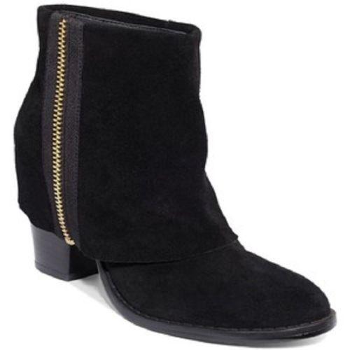 Rachel Roy New Ramone BLACK Womens Shoes Size 7.5 M Boots MSRP 9