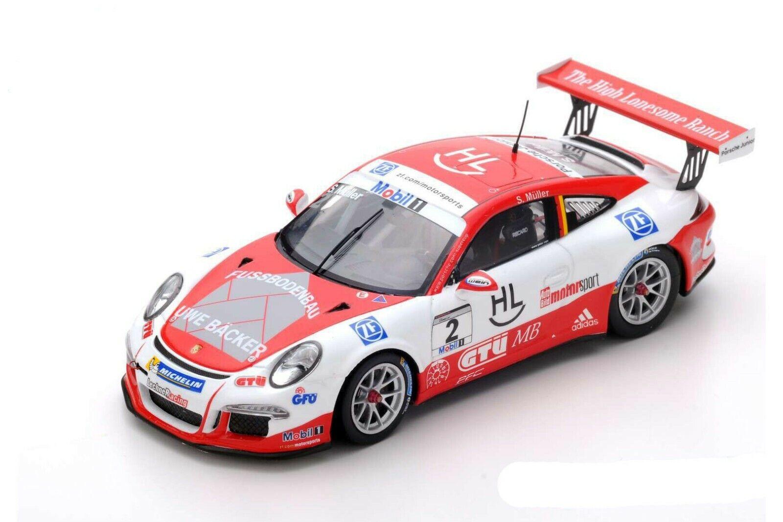 1 43 Porsche 911 991 Carrera Cup  2 Champion Mobil 1 Supercup 2016