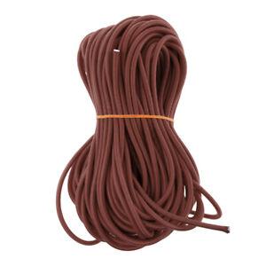 3mm Bungee Cord Marine Grade Heavy Duty Shock Rope Tie Down String 5m Black