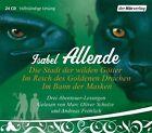 Die Stadt der wilden Götter / Im Reich des goldenen Drachen / Im Bann der Masken von Isabel Allende (2009)