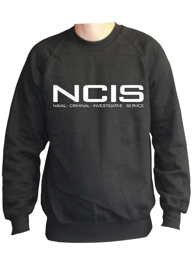 fm10 felpa girocollo unisex NCIS Naval Naval Naval Criminal Investigative serie TV aafd06