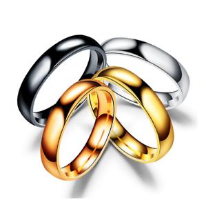Anello-Anelli-Fede-Fedina-Uomo-Donna-Unisex-Acciaio-Cristallo-Fidanzamento-Love