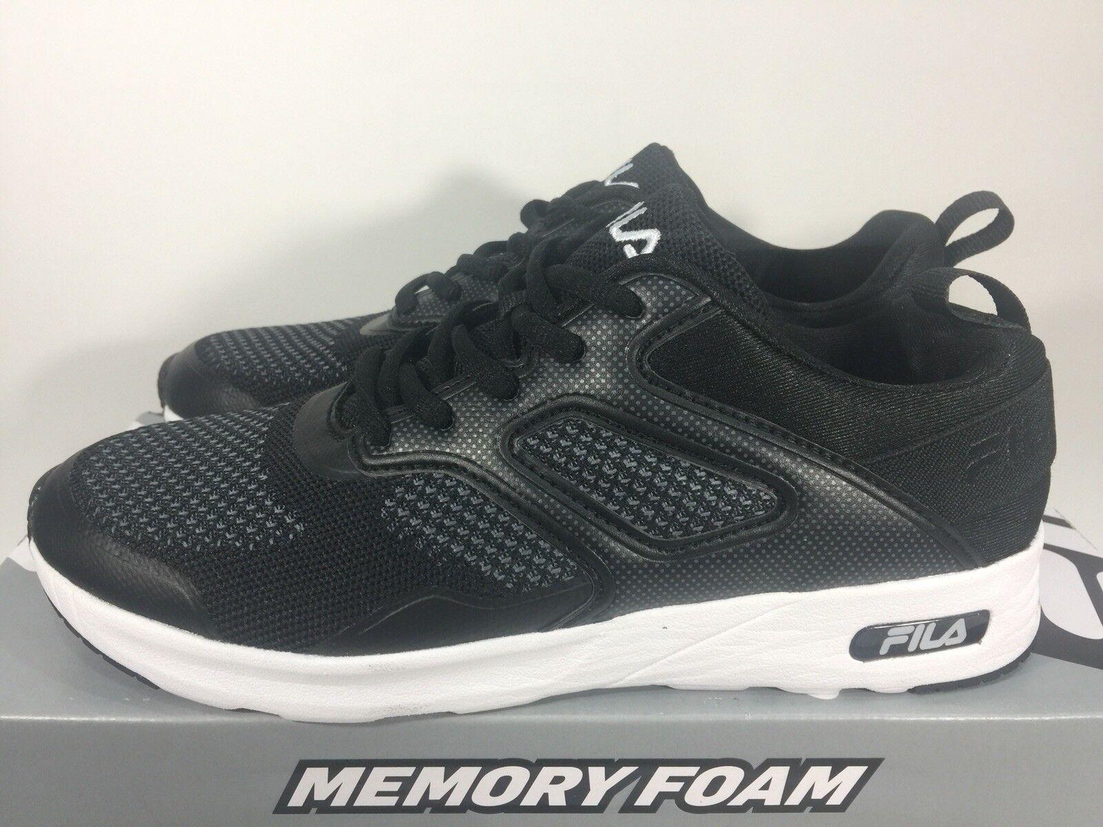 6c5f8a3d70754 FILA Frame V6 Memory Foam Sneakers Women's Shoes ~ Black ~ Various Sizes !!