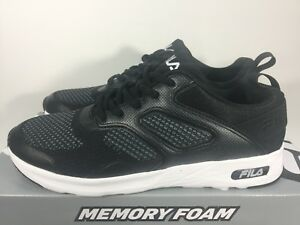 memory foam black shoes