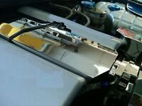Corvette C6 2005-2007 Ls2 Stainless 2 Pc Intake Plenum Cover Engine Chrome