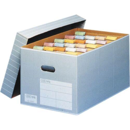 83427 Elba Archivbox mit Deckel Umzugskarton 5er Pack