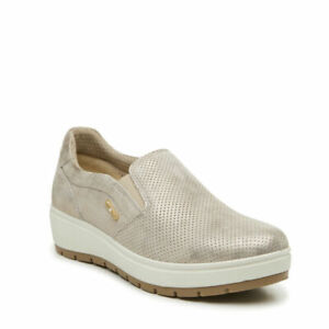 Damenschuhe Slip On Enval Soft Asfalt 3268022