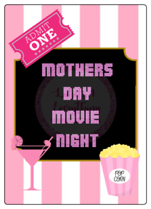 Mothers-Day-Movie-Night-Large-Rectangle-Stickers-Letterbox-Party-Bag-Sweet-Box