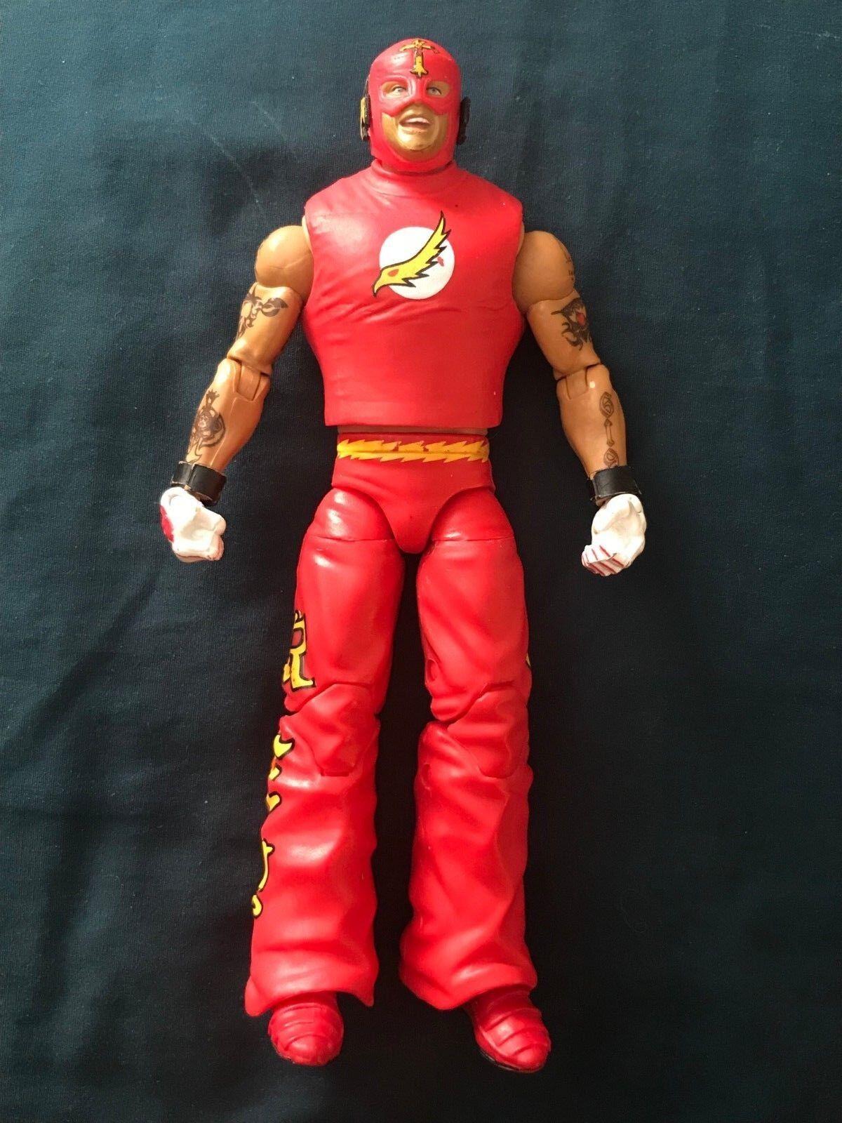 Rey Mysterio WWE Elite Mattel Mattel Mattel The Flash Figure- Ringside Exclusive, Red 15d797