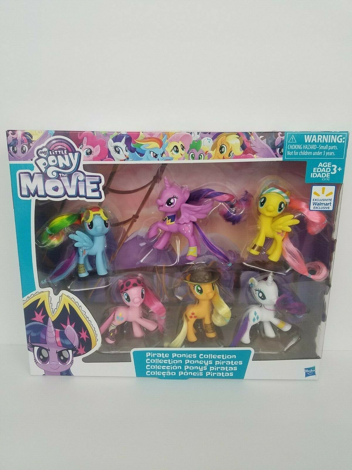 New My Little Pony The Movie Pirate Ponies Collection Collection Collection Pony Set New In Box 30f568