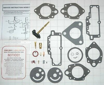 1962-66 CARB  KIT CARTER SIDE DRAFT YH 1 BARREL CORVAIR TURBO CHARGED MODEL  NEW