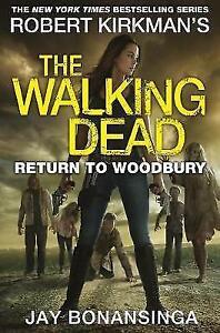 Return-to-Woodbury-The-Walking-Dead-by-Bonansinga-Jay-Paperback-Book-New-F