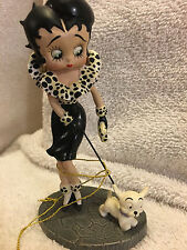 BETTY BOOP Classic in Furs, WESTLAND COLLECTOR FIGURINE #6852