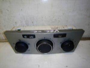 VAUXHALL-Vectra-C-2003-2009-Riscaldatore-Pannello-di-Controllo