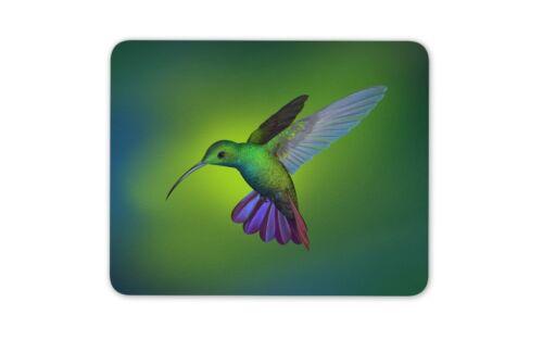 Tropical Birds Humming Gift Computer #13114 Amazing Hummingbird Mouse Mat Pad