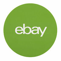 Green, Round Ebay Branded Stickers 3 X 3