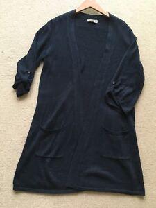Cardigan 175 £ Knitwear Taille 100 l Rrp Long M Jigsaw Lin twqgz1zv