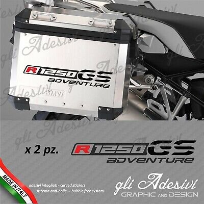 2 Adhesives Stickers BMW R 1200 GS suitcases adventure R GS