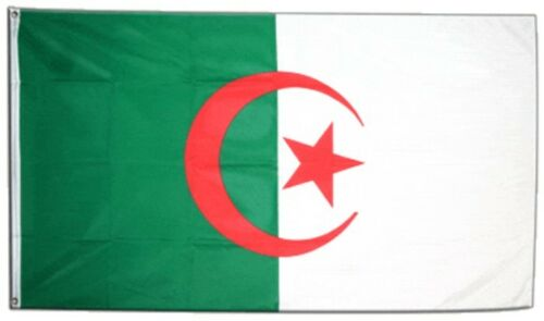 Fahne Algerien Flagge algerische Hissflagge 90x150cm