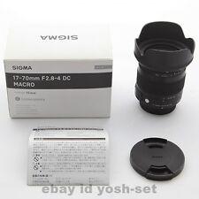 SIGMA standard zoom lens 17-70mm F2.8-4 DC MACRO OS HSM for Nikon Japan Model
