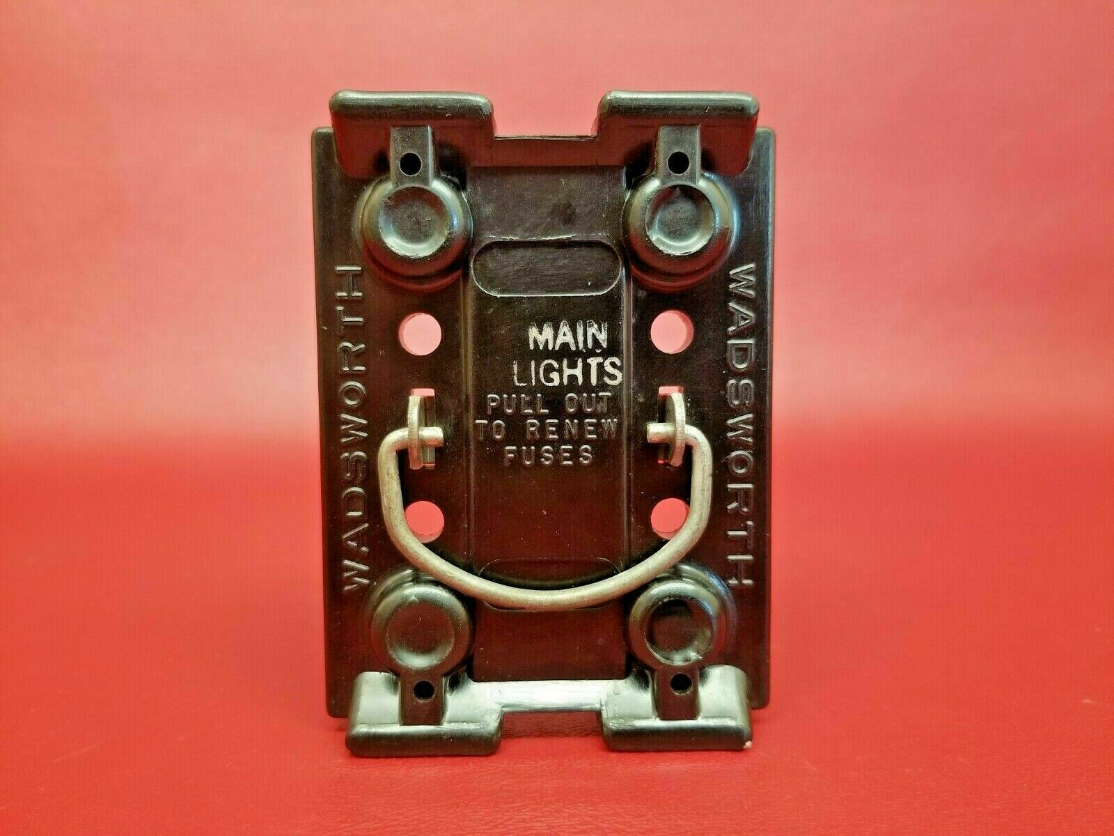 [DIAGRAM_4PO]  VINTAGE Wadsworth 100 amp Fuse Holder Pull Out and Block - MAIN WITH FUSES  for sale online | eBay | Vintage Wadsworth Fuse Box |  | eBay