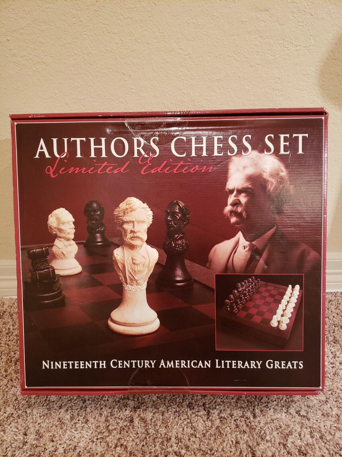 Oöppnad 1800-talslitterär Stora Amerikanska Författare Chesset